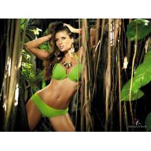 2015 roupa de banho feminina natural selvagem braguita swimsuit Jungle tentação biquíni conjunto mais tamanho swimsuits