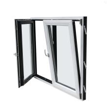 Double Glass Inswing Aluminium Tilt And Turn Windows
