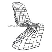 Verner panton wire Chair Silla