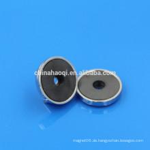 Ferrit-Qualität runde Montagemagnete