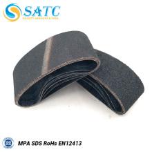 Tamaño de grano abrasivo y uso de pulido cinta de lijado