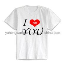 Дешевые хлопок Мужская напечатанная футболка