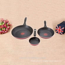 induction cooker sets cast aluminium wok