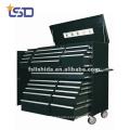 Caja de herramientas con ruedas de acero / cofre con cajones Caja de herramientas con ruedas de acero / cómoda con cajones