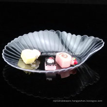 PP/PS Plastic Dish Disposable Scallop Shaped Dish