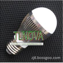 B22 E27 base 380lm led bulb light