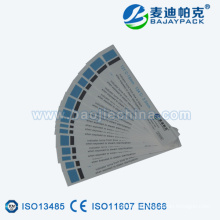 Steam sterilization indicator tape proved by ISO13485 CERTIFICATE