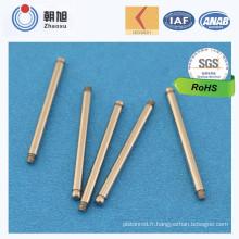 Chine Fabricant Fabrication Haute Qualité CNC Usinage De Refroidissement Moteurs De Ventilateur Arbre