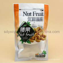 China-Lieferant und SGS genehmigten Plastikverpackungs-Reißverschluss-Nuss-Frucht-Snack-Tasche