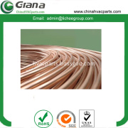 4.76x0.5mm low carbon galvanized steel brake tube