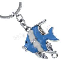 Fisch-Emaille-Zink-Legierungs-Schlüsselkette