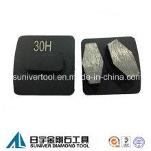 Redi-Lock cambio rápido concreto Metal pulido diamante
