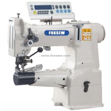 Máquina de Lockstich de alta resistencia para cama de cilindro de accionamiento directo con cortador