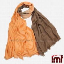 Мужская тонкая цельная зимняя одежда из шерсти ombre shawl