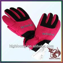 Venta al por mayor duradera prevenir heladas invierno Thinsulate guantes de esquí dentro