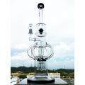 """Hb-K57 """"El Núcleo Atómico"""" de 8 brazos Reciclador Rocket forma de vidrio de fumar pipa de agua"""