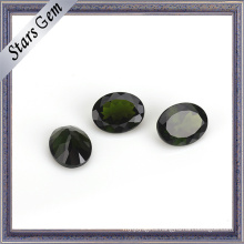 Wuzhou Factory Price Oval Natural Cut Natural Diopside