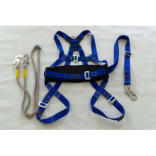 Full Body Safety Harness with Lanyards