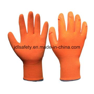 Красочные перчатка с Сэнди латекс (LRS3032)
