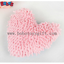 Plush Pink Heart Shape Pet Toy with Squeaker BOSW1077/15CM