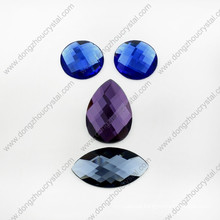 High Quality Flat Back Glass Stones for Garment