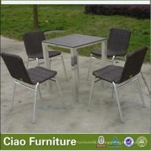 Chaises de salle à manger de meubles de salle à manger de jardin
