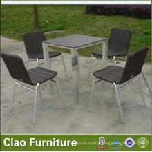 Mobiliário de Jantar para Jardim Cadeiras de Mesa de Jantar