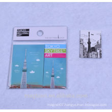 2015 best-selling japan Tokyo tower design souvenir metal fridge magnet