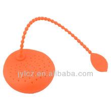silicona del tamiz de la bolsita de té del grado de la comida de 4 colores clasificados