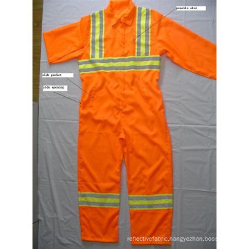 100%polyester reflective safety Coveralls
