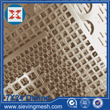 Pembukaan Square Perforated Metal