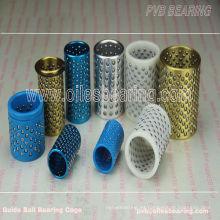 cojinete de bolas de latón, buje de guía de jaulas de bolas POM de plástico, jaula de retención de bolas de guía FZP