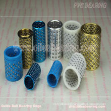 FZLBall Cage Retainer Bush Bearing, Best Selling Customized Ball Retainer Bearing, Aluminum Balls Bearing Cage Bushing for Molds
