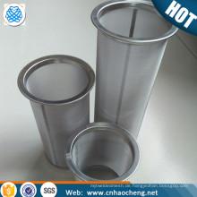 100 Mesh Edelstahl kalten Kaffee Brauer Mesh Filter Rohr / Einmachglas kalt brauen Kaffeefilter Sieb