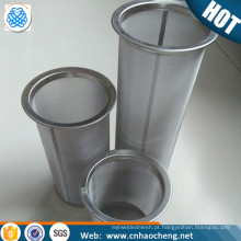 100 malha de aço inoxidável máquina de café frio tubo de filtro de malha / mason jar brew filtro de café frio coador