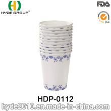 Tasse à thé de papier chaud jetable à simple paroi (HDP-0112)