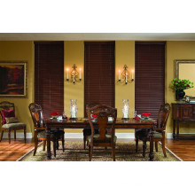 50mm environmental UV coated basswood blinds
