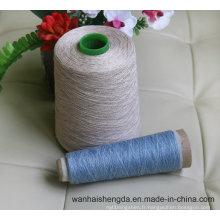 Fil 100% pur de lin textile de fibre de lin pour le tissage