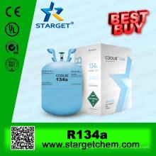 99,9% de refrigerante de gas de pureza r134a