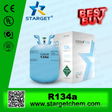 refrigerant gas r134a with 99.9% purity for sale