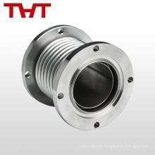 Junta de dilatación metálica de fuelle con cubierta de metal
