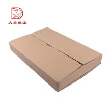 Boîtes d'emballage plat en carton ondulé de conception directe d'usine