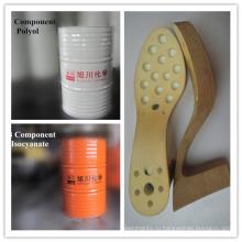 Полиол-изоцианат для женской подошвы на высоком каблуке
