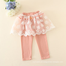 meninas do bebê calças de renda / crianças meninas vestido de calças para o outono