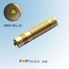 2014 Компактный размер Яркость CREE Xm-L U2 светодиодный фонарик (F16)