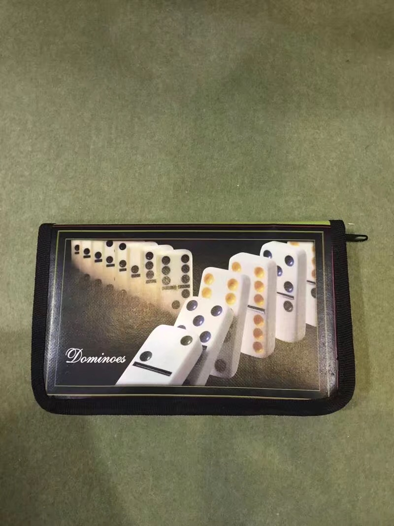 Double 6 Travel Dominoes Game Set