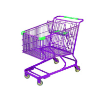 ベビーシート付きスーパーマーケットメタルカート