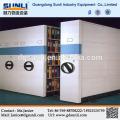 Dongguan Rack Anbieter Heißer Verkauf Stahl Mobile Bibliothek Bücherregal