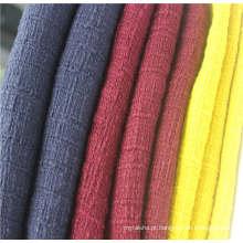 Tecido tweed 100% algodão para roupas populares