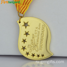 Custom Engraved Medallions With Embossed Logo